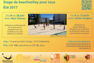 Stage beachvolley 2017